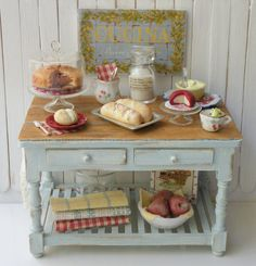 Miniature Bakers Table