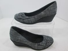 Dexflex Comfort Women's Career Shoes Platform Wedges Size 7 #Dexter #PlatformsWedges