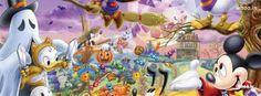 halloween disney donald duck cartoon fb cover, halloween festival of ...