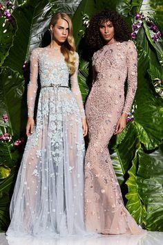 Zuhair Murad Resort 2017 fashion show - Pre-Spring-Summer 2017 collection, shown…