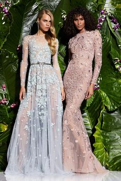 Zuhair Murad Resort 2017 fashion show - Pre-Spring-Summer 2017 collection, shown…