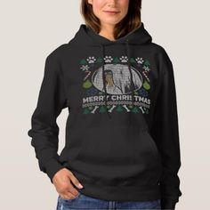 Lhasa Apso Dog Breed Ugly Christmas Sweater - dog puppy dogs doggy pup hound love pet best friend