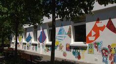 Cinq graphistes japonais redonnent des couleurs à une école de Grenoble - France…