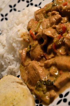 Viktväktarrecept Great Recipes, Dinner Recipes, Sambal Oelek, Time To Eat, Chutney, Food Inspiration, Love Food, Mango, Curry