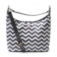 JP Lizzy Hobo Diaper Bag (Glazed Chevron)