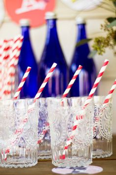 Picnic idea! Red, white, and blue theme