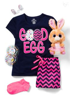 Looking for the perfect Easter pjs? We have egg-zactly what you need!
