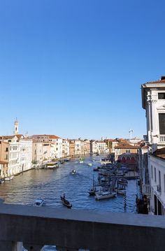 View over the Grand Canal, Venice