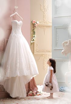 David Tutera for Mon Cheri Spring 2015 Collection Highlights — Sponsor Highlight | Wedding Inspirasi