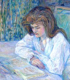 View La liseuse by Henri de Toulouse-Lautrec on artnet. Browse upcoming and past auction lots by Henri de Toulouse-Lautrec. Henri De Toulouse Lautrec, Renoir, People Reading, Reading Art, Girl Reading, French Artists, Edgar Degas, Oeuvre D'art, Female Art