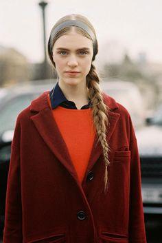 Vanessa Jackman: Paris Fashion Week AW 2013....Hedvig