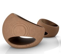 CANYON armchair by Origami Furniture - design Giancarlo Zema . Origami Furniture use recycled cardboard to made furniture and lamps