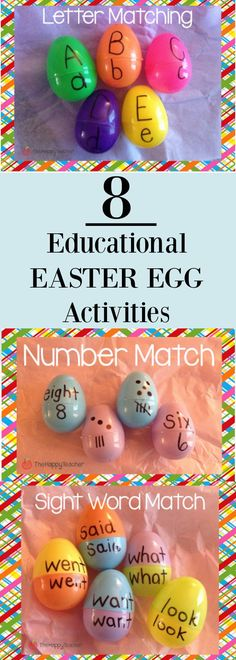 8 Educational Easter Egg Activities
