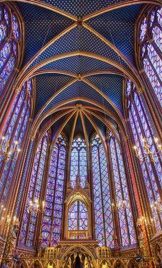 Sainte Chapelle, Paris..