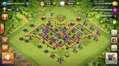 That is my base I got it off YouTube type in batman bases it will be the first on u had to have a lvl 7 town hall tho