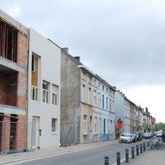 ectv - projecten: Rijwoning stedelijke woonkavels Gentbrugge