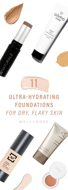 The best moisturizing foundations for dry flaky skin
