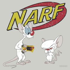 NARF - Pinky and the Brain T-Shirt   YES.