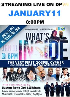 In a little more than an hour 6 gospel artist go to the mic to perform and rejoice in the first online cypher on DPVN.