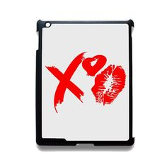 The Weeknd Xo Lips TATUM-11130 Apple Phonecase Cover For Ipad 2/3/4, Ipad Mini 2/3/4, Ipad Air, Ipad Air 2