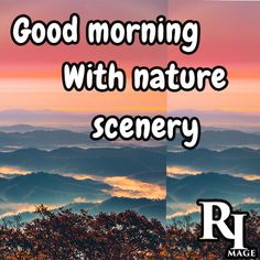 Good morning with nature scenery Good Morning Nature Images, Hd Images, Feel Good, Scenery, Pictures, Beautiful, Photos, Background Images Hd, Landscape