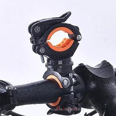 Plastic 360 Degree Rotation Cycling Bike Bicycle Flashlight Torch Mount LED Head Front Light Holder Clip BicycleAccessories #Affiliate