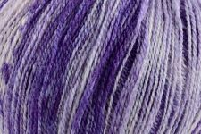 Whisper Lace Wool/Silk:  Orchid Dream 208 (/Strawberry Sunday 201, Fairy Dust 207, Red Azalea 211)