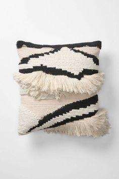 GREY PILLOW Amalia stripes pillow with excellent texture.Amalia stripes pillow with excellent texture. Textiles, Estilo Navajo, Turbulence Deco, Striped Cushions, Fluffy Cushions, Berber, Boho Stil, Bohemian, Black Gold Jewelry