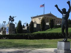 The Rocky Statue at the Philadelphia Museum of Art