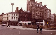 Fargate in Sheffield Sheffield Wednesday, Sheffield England, South Yorkshire, Peak District, Over The Years, Beautiful Places, The Past, Street View, History