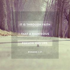 For in the gospel the righteousness of God is revealeda righteousness that is by faith from first to last just as it is written: The righteous will live by faith. Romans 1:17 NIV  #Bible #scripture #verse #verseoftheday #qotd #followHIM #amen #askchavonne #ibelieve #likes #l4l #God #Jesus #hallelujah #life #love #peace #globe #worldwide #world #gospel #image #imagery #prayers #blessings #question9to5 #SpiritualSunday  Today's Hashtag - #SpiritualSundays