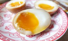 Ramen, Soy Sauce Eggs, Sweet Soup, Egg Ingredients, Custard Powder, Soft Boiled Eggs, Asian Desserts, Chinese Restaurant, Foodblogger