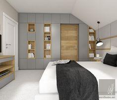 Dom w Milanówku Teenage Room, Home Projects, Divider, House Design, Interior Design, Inspiration, Furniture, Home Decor, Bedroom Designs