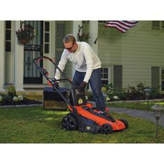Buy Black & Decker Cordless Electric Lawn Mower at online store Tools And Equipment, Outdoor Power Equipment, Lawn Mower Repair, Push Lawn Mower, Diy Projects Cans, Easy Diy Projects, Diy Projects To Keep You Busy, Cordless Lawn Mower