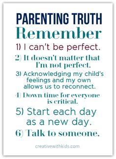 Parenting Reminder for the Hardest days.  I'm Thinking homework days ahead.