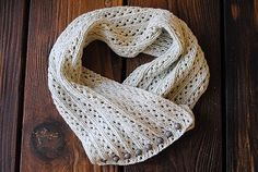 City Moth's Elanor cowl. Next project! I have a lovely coral colored cotton in mind :)