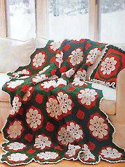 Crochet - Merry Merry & Bright Afghan & Pillow - #837638