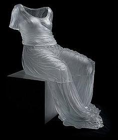 Amazing Glass Dresses By Karen LaMonte