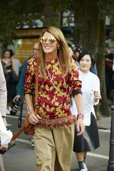 Milano Fashion Week, la primavera-estate 2016: street style.  Parte 3 (foto 4)