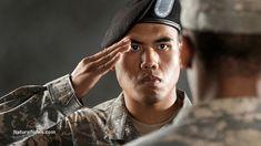 A proper salute