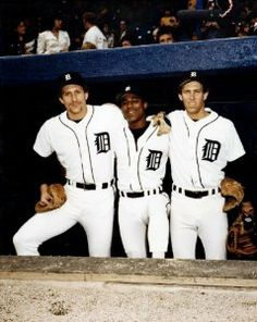 Lance Parrish, Lou Whittaker and Alan Trammell, Detroit Tigers   <3 them!