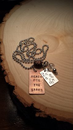 Reach For The Stars necklace with charms by LaTiendita on Etsy
