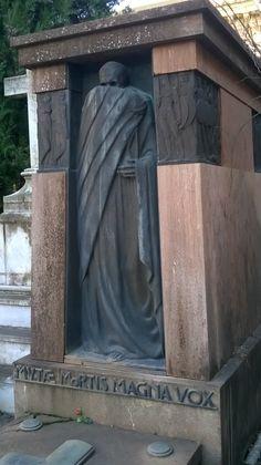 kyacchanlovesfandom: Certosa Monumental Cemetery, Bologna-Italy Don't Fear The Reaper, Post Mortem Photography, Bologna Italy, Momento Mori, Cemetery Art, Angel Statues, Graveyards, Do Not Fear, Monuments