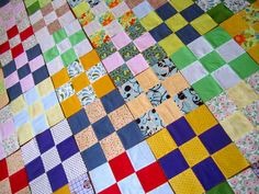 I have it in my plan (somewhere) that i am going to make one for each of my Children.  If I become good at it and I like it, grandchildren too.  Both my Grandmothers made quilts.... always interesting to watch the process.