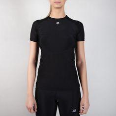 NAKA Compression Mesh T-Shirt Black #black #brand #fashion #gym # fitness #gymwear #fitnesswear #gymclothes #womenswear #sporty #sport #sportswear #shirt