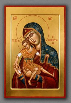 Dionisi.ru Orthodox Icons, Our Lady, Christianity, Religion, Princess Zelda, Baseball Cards, Painting, Child, Fictional Characters