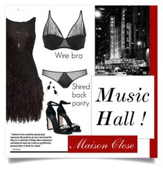 """Maison Close - Music Hall"" by blueberrylexie ❤ liked on Polyvore featuring Naeem Khan, Maison Close, Dolce&Gabbana, Rebecca Minkoff, Jorge Adeler, lingerie and maisonclose"
