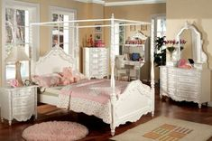 Inland Empire Furniture Victoria Pearl White Solid Wood Canopy Twin Bed Set by Inland Empire Furniture, http://www.amazon.com/dp/B008R9X8F0/ref=cm_sw_r_pi_dp_xaV4rb1XH140D #BedsbyInlandEmpireFurniture