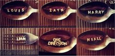 this is super cute haha!!!!!!!! (although the one that says Obe Direction should be a spork.....lol;) )