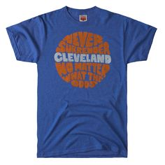 HOMAGE Cleveland Cavaliers Never Surrender NBA Basketball T-Shirt - $28.00